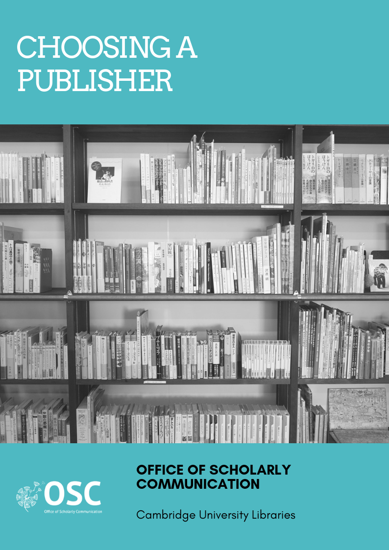 Choosing a publisher handy guide