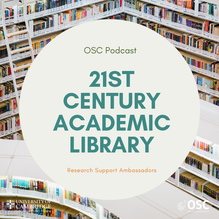 21st century academic library podcast image