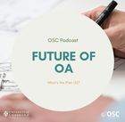 Future of OA podcast logo