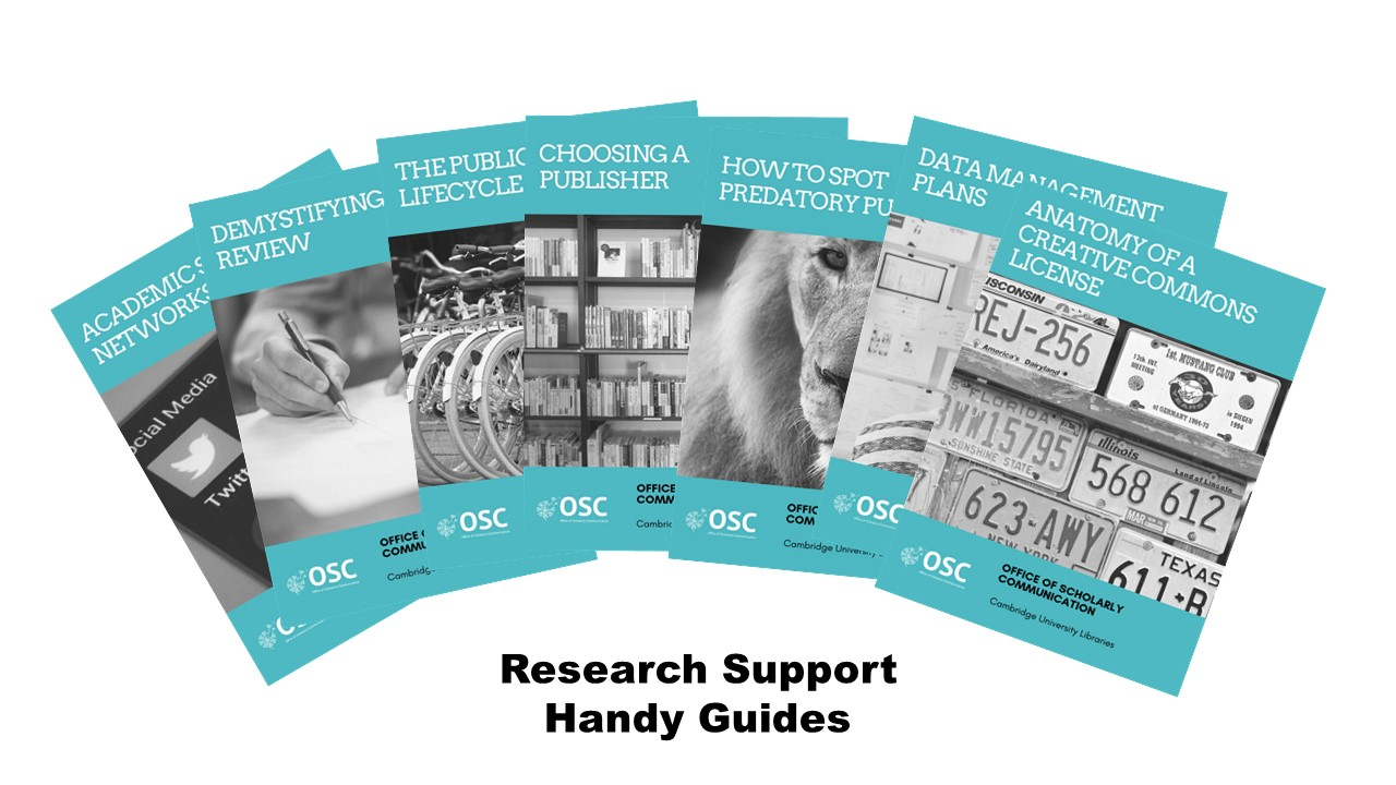 Research Support Handy Guides logo