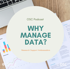 Why manage data podcast