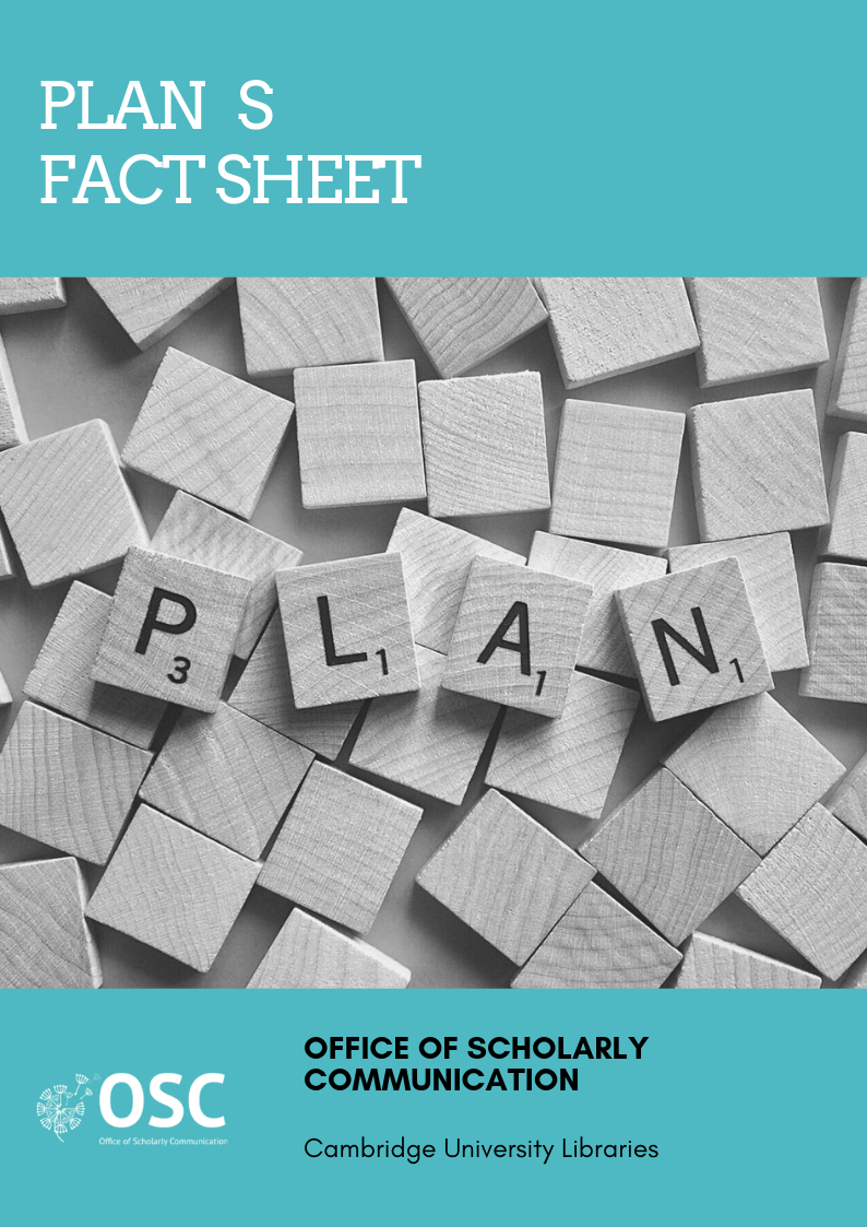 Plan S factsheet handy guide