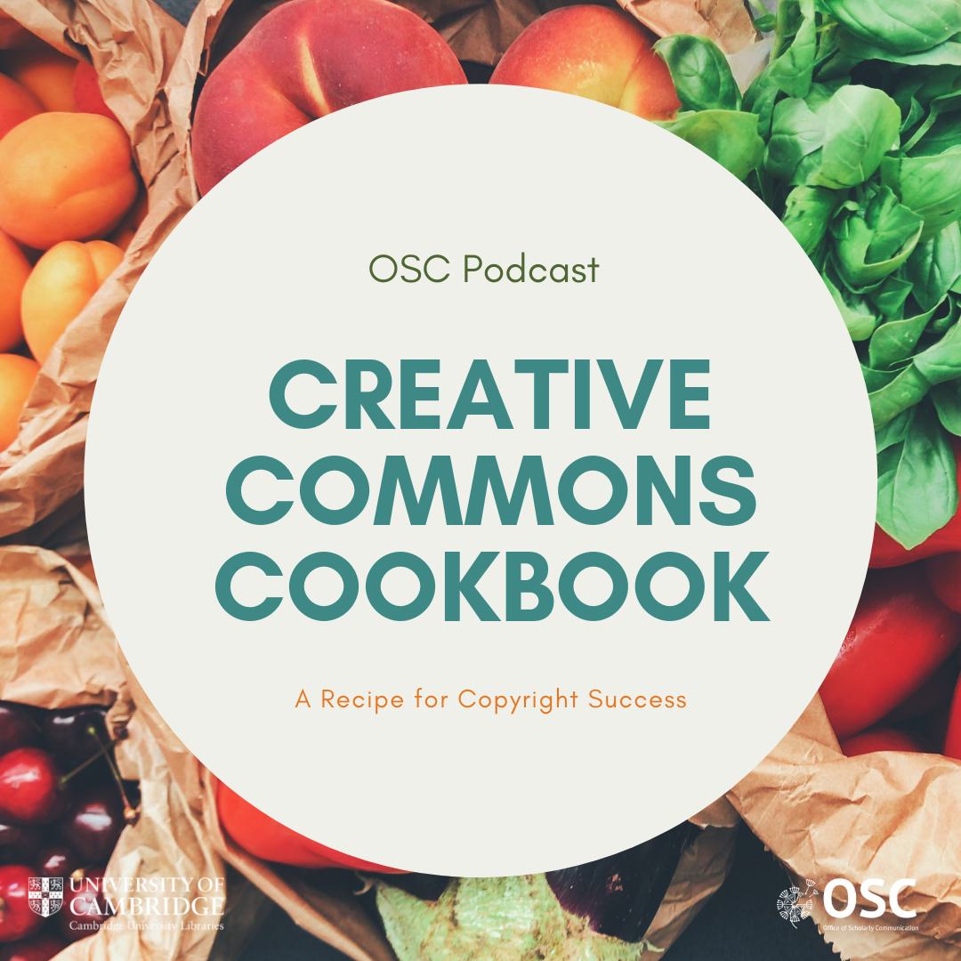 Creative Commons Cookbook graphic