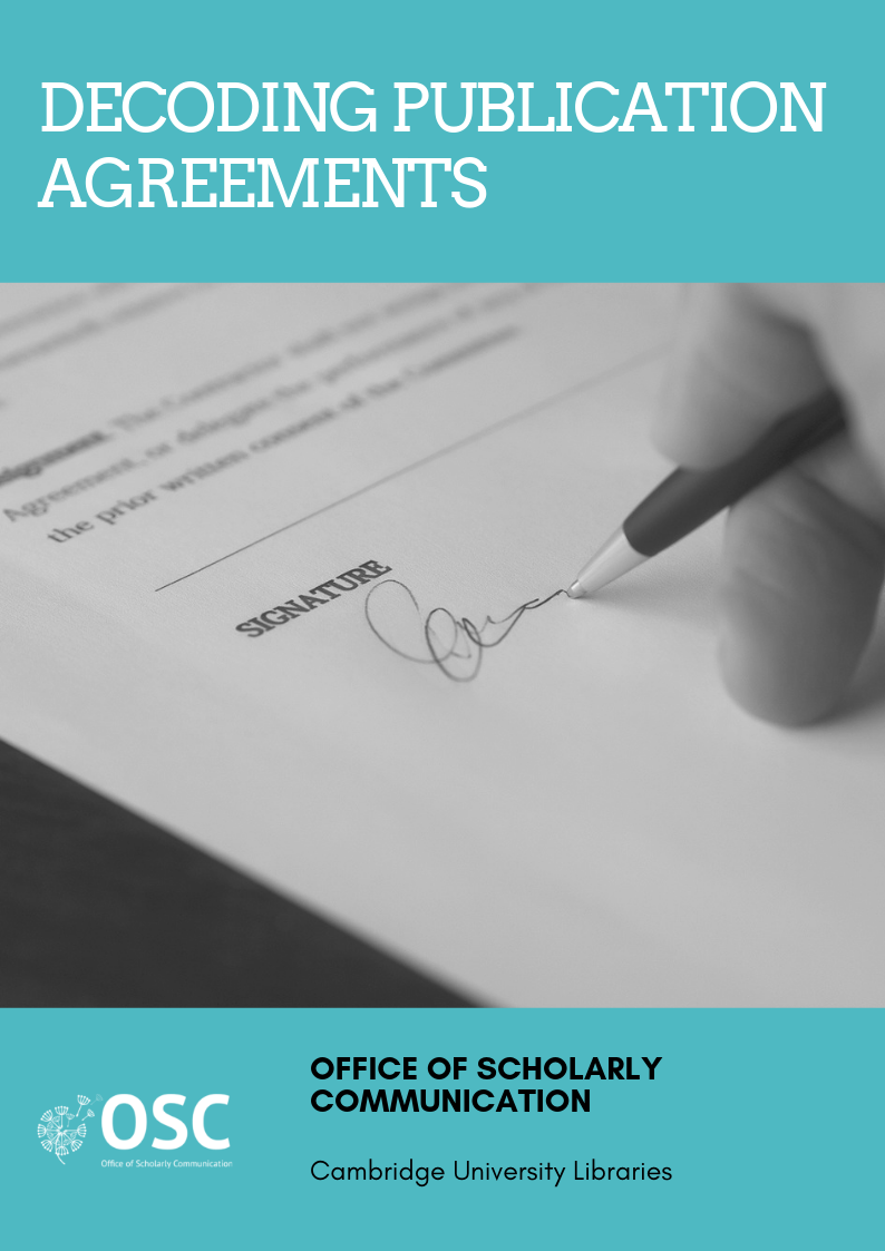 Decoding publication agreements handy guide