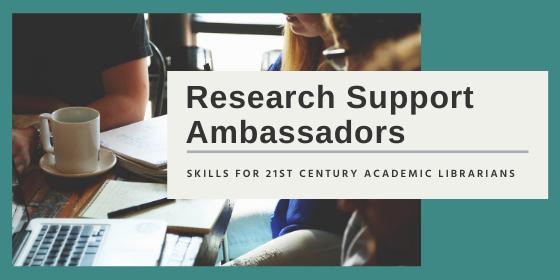 Research Support Ambassador Header Image