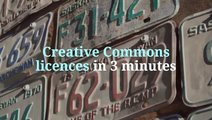 Creative Commons in 3 Minutes slide