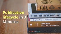 Publication lifecycle in 3 minutes video card