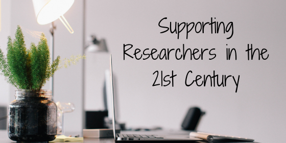 Supporting Researchers in the 21st Century Header Image
